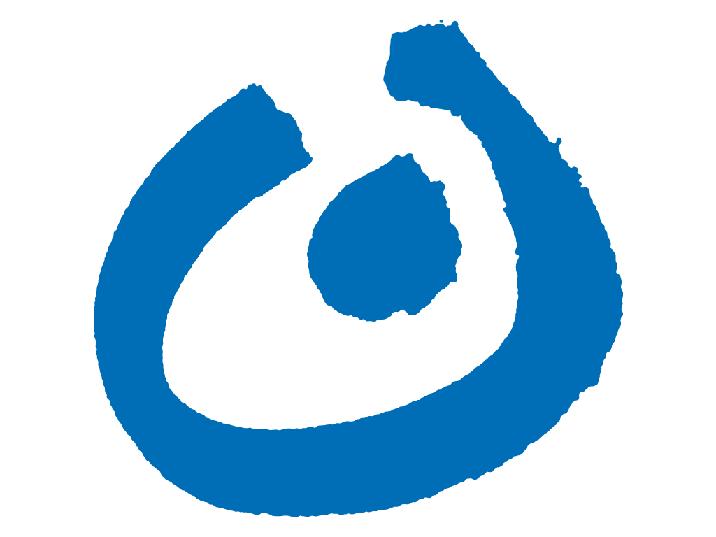 Lebenshilfe Hauptlogo (Kreis mit Punkt)