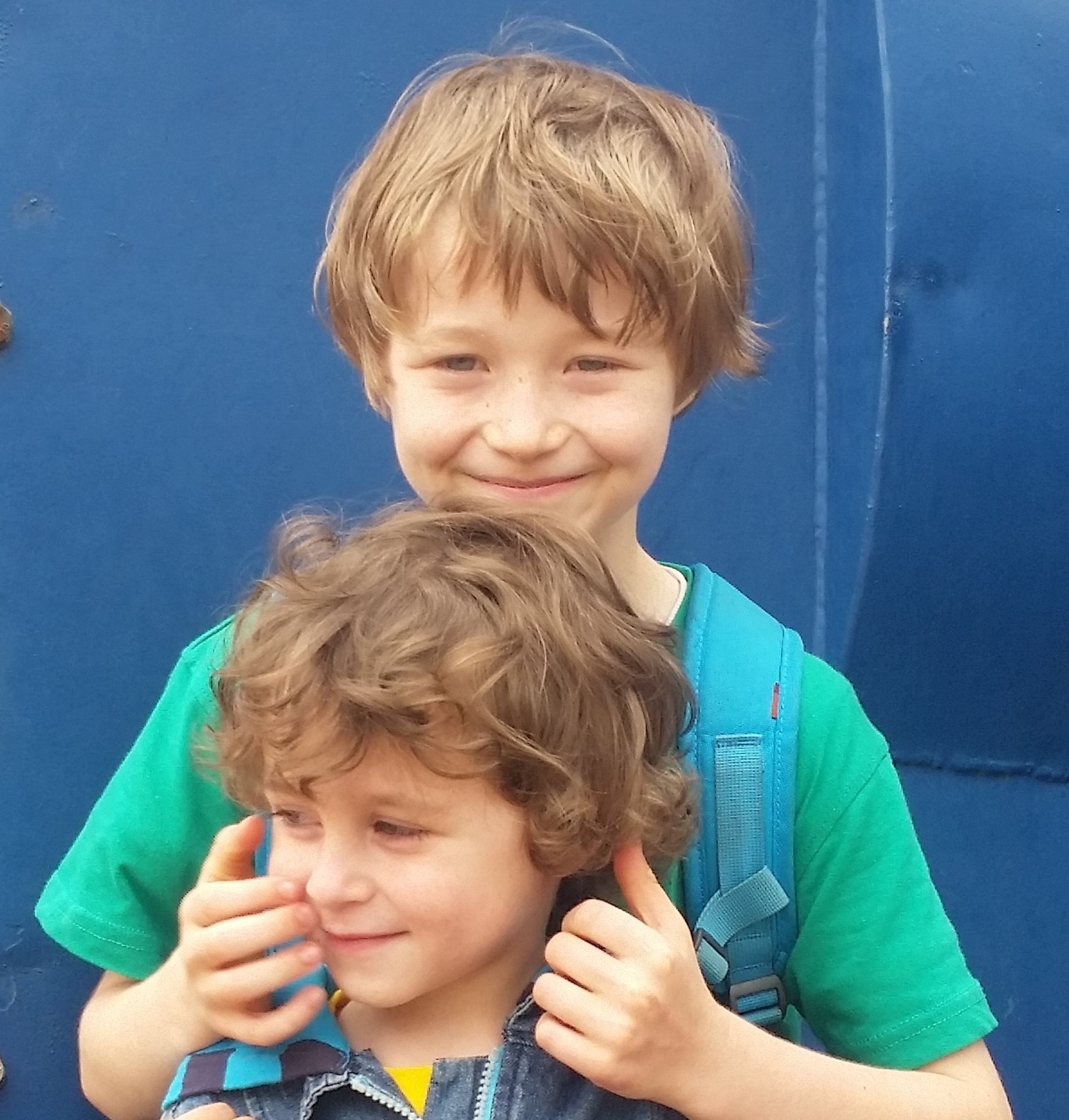 Die Brüder Elian und Daniel