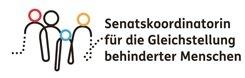 Logo Senatskoordinatorin für die Gleichstellung behinderter Menschen