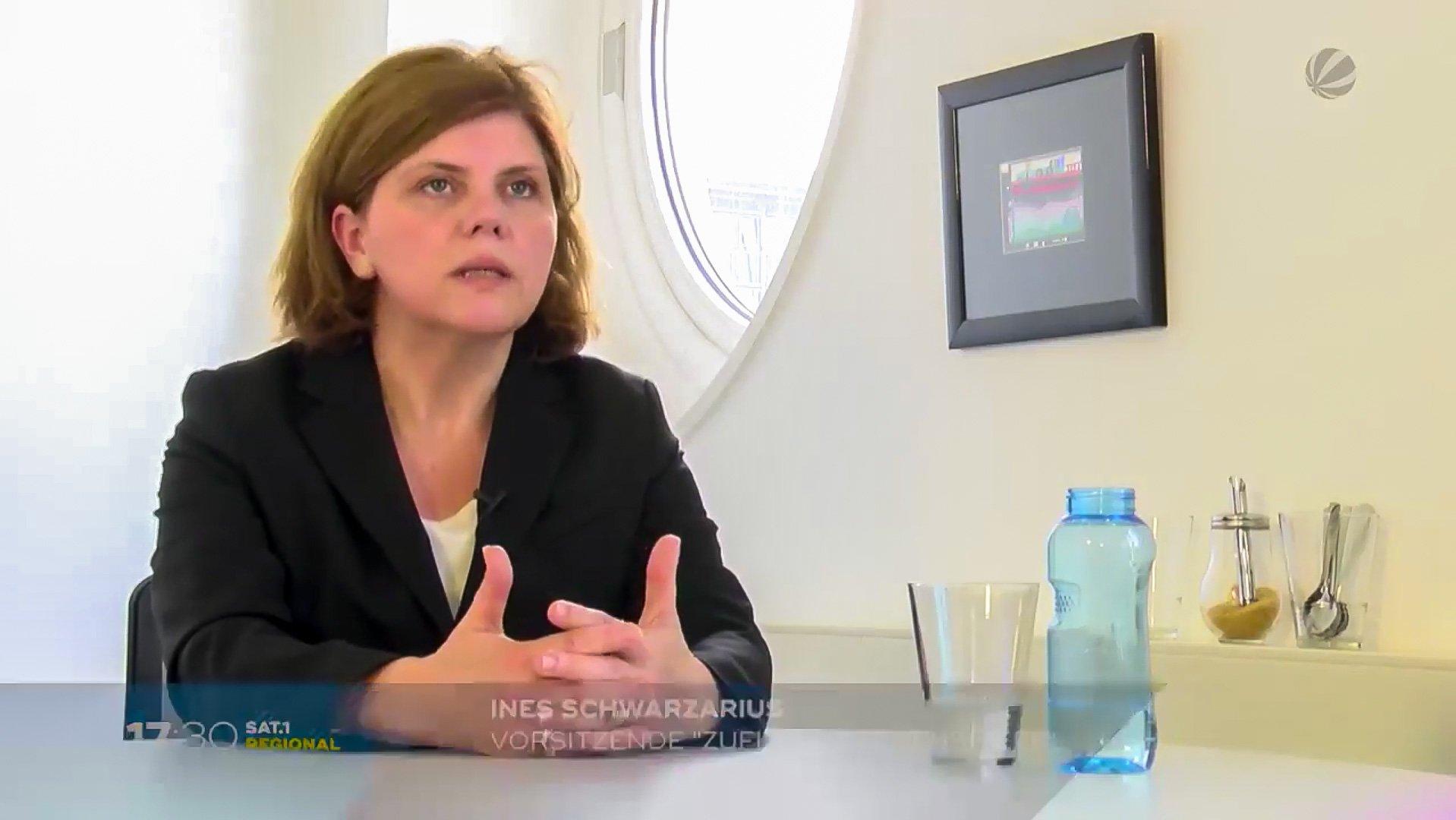 Ines Schwarzarius – Projektleitung ZuFlucht Lebenshilfe SAT1 Reginal-Interview