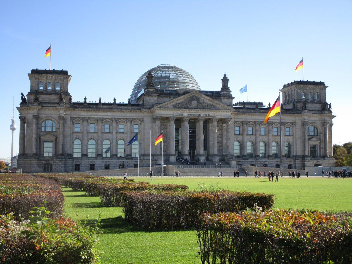 Gebäude: Deutscher Bundestag