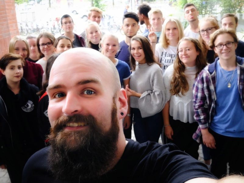 Selfie mit den FSJ-Kräften