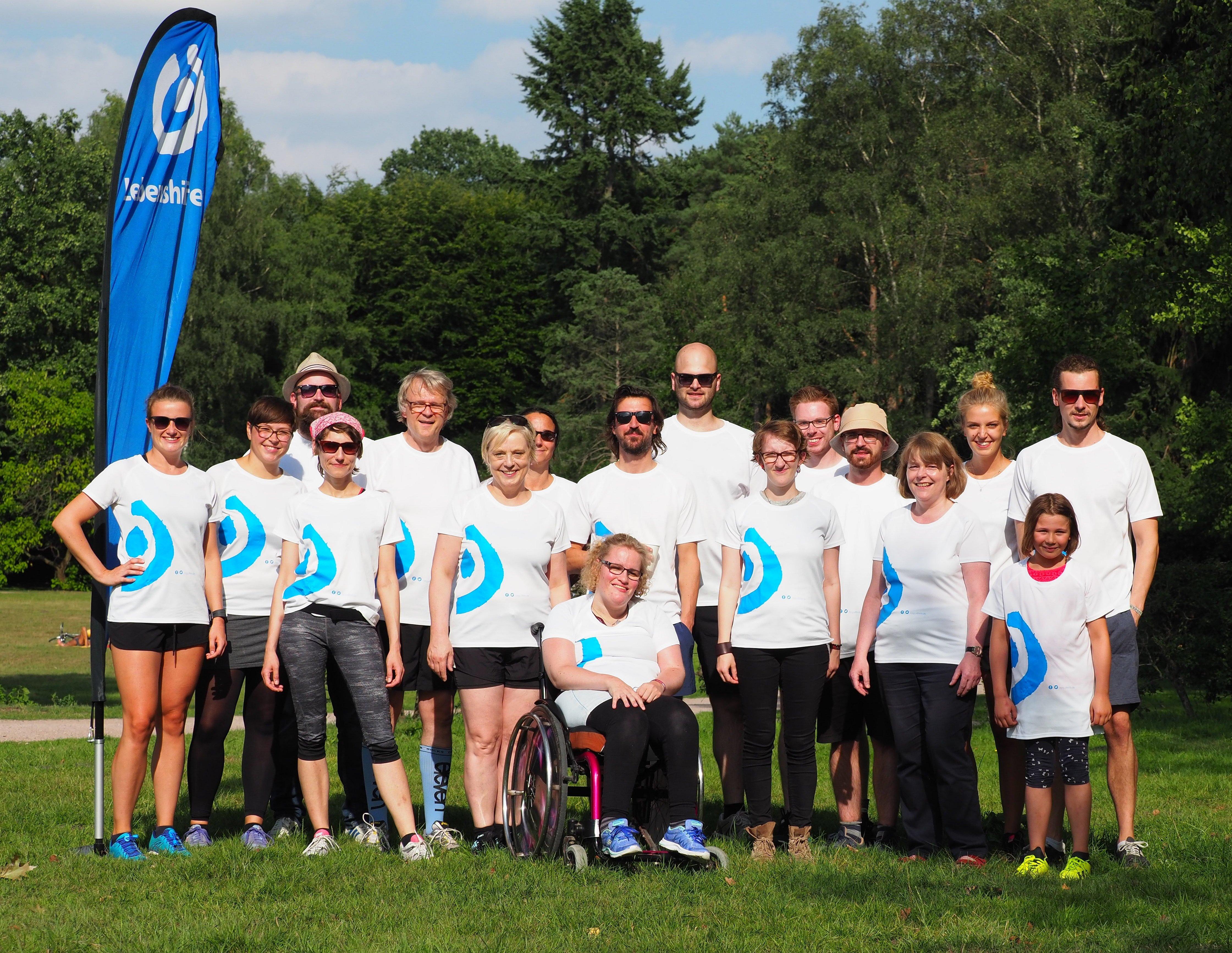 Gruppenbild Lebenshilfe-Läufer