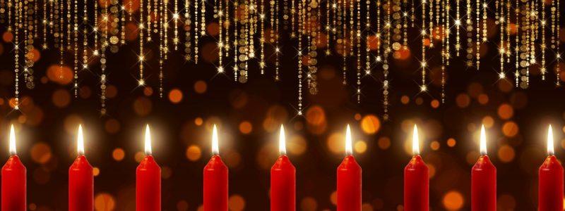 Kerzen und Lichter