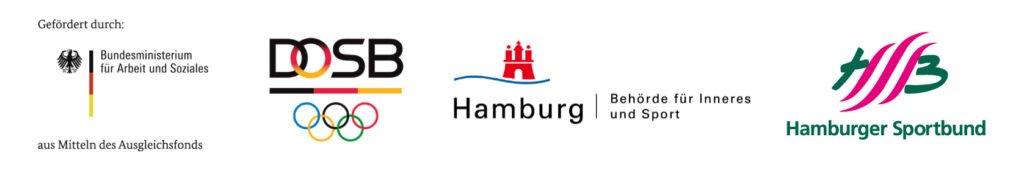 Logos: BMAS, DOSB, HSB, FHH