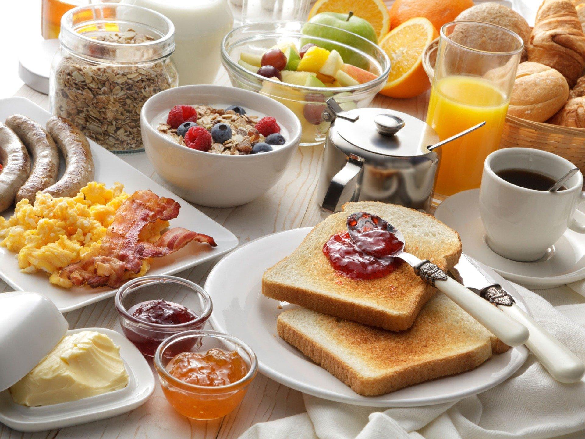 Foto: Frühstückstisch