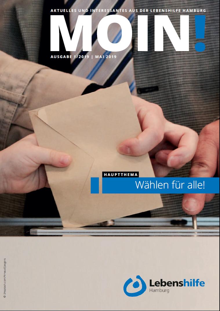 Titelbild Zeitschrift MOIN