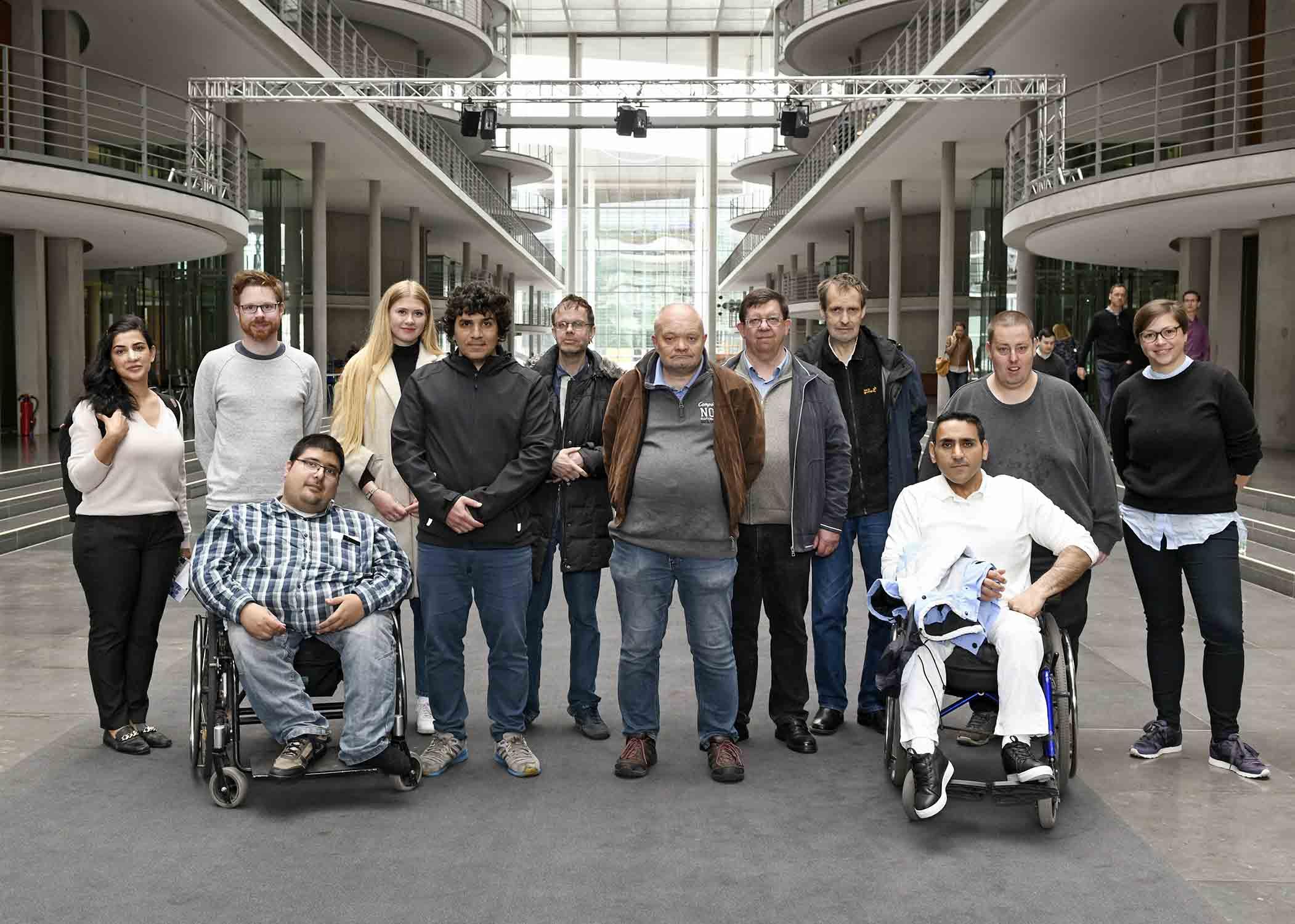 Gruppenfoto Teilnehmer Berlin-Reise
