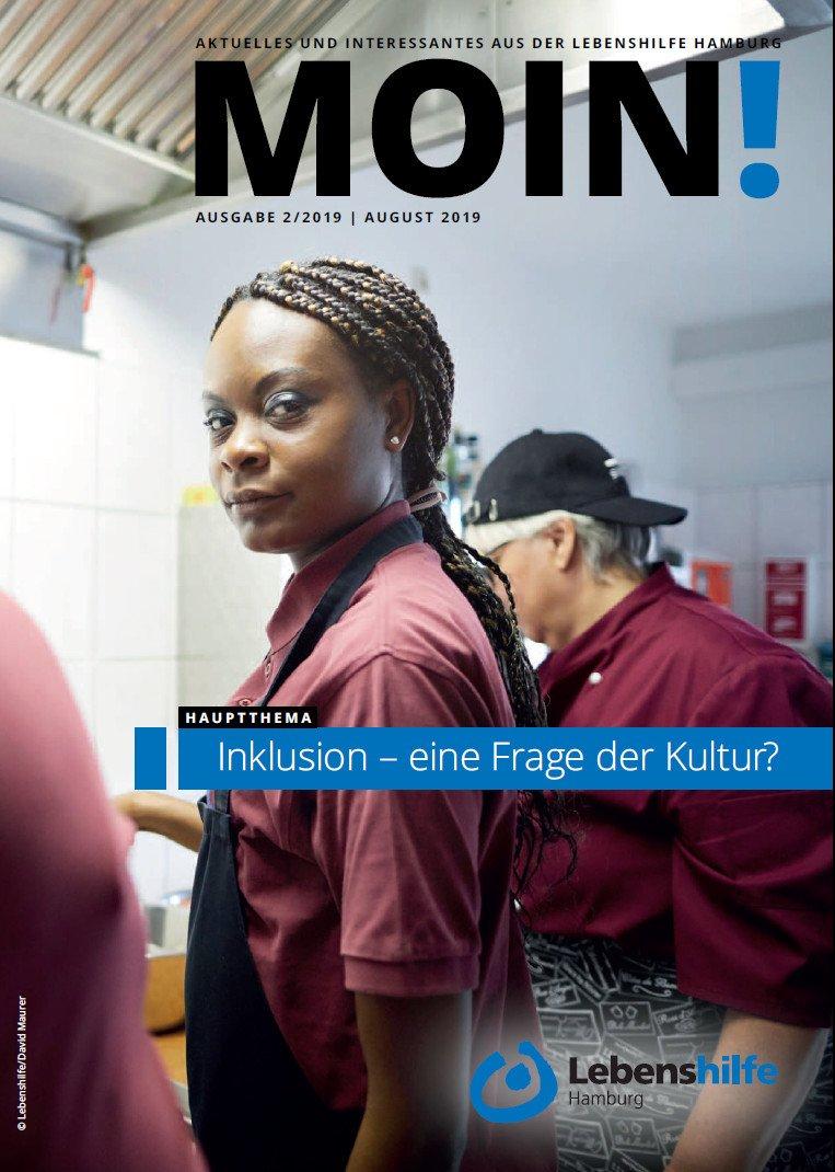 Titelblatt: MOIN August 2019