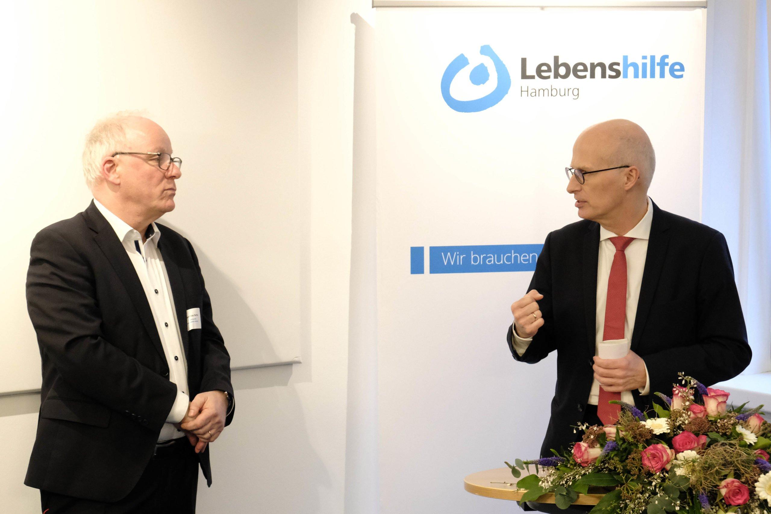 Dr. Peter Tschentscher und Dr. Matthias Bartke
