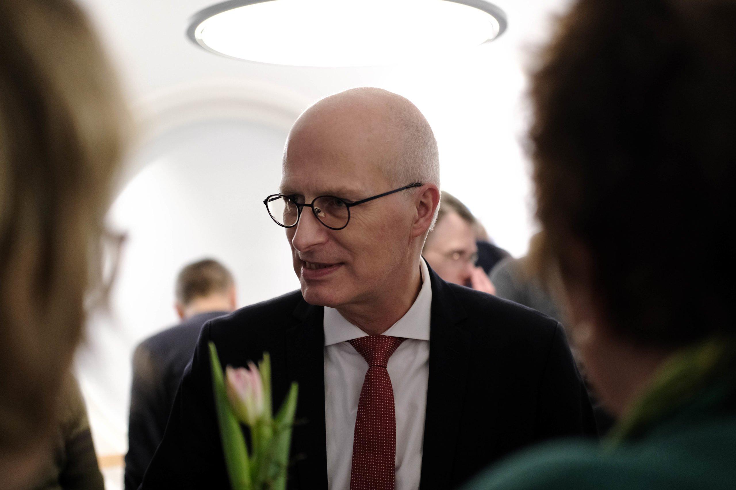 Dr. Peter Tschentscher, Erster Bürgermeister der Freien und Hansestadt Hamburg
