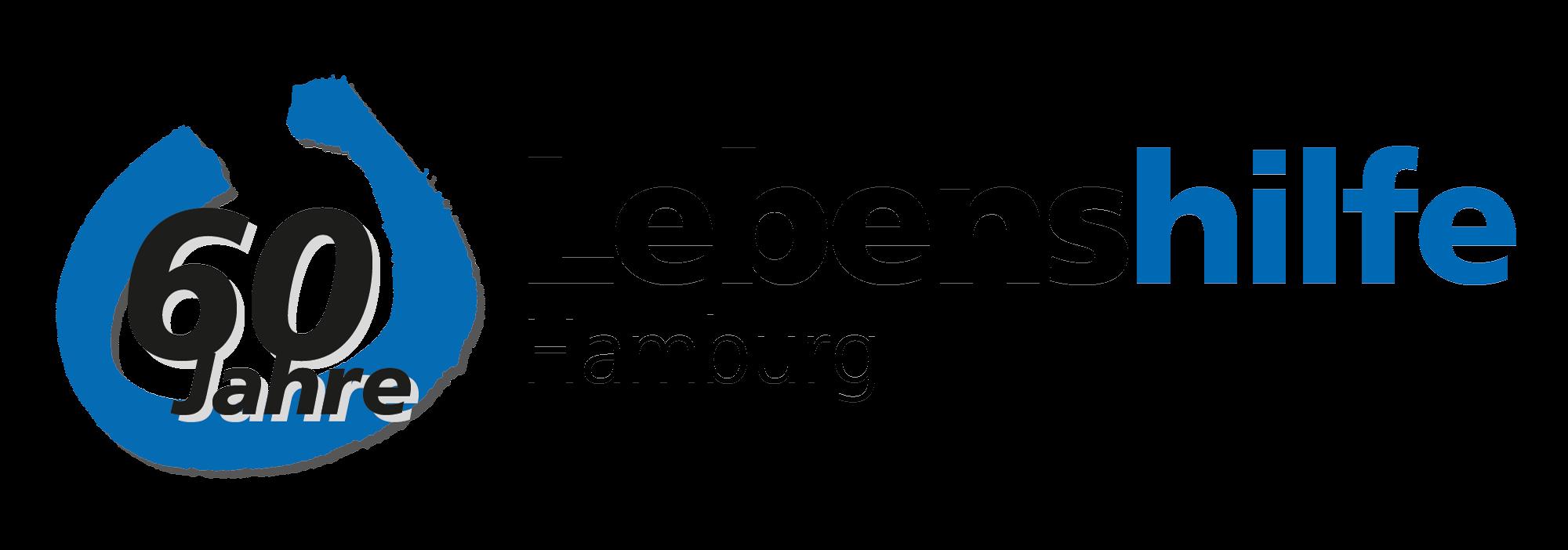 Logo 60 Jahre Lebenshilfe Hamburg