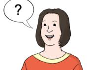 Grafik: Sprechblase mit Fragezeichen