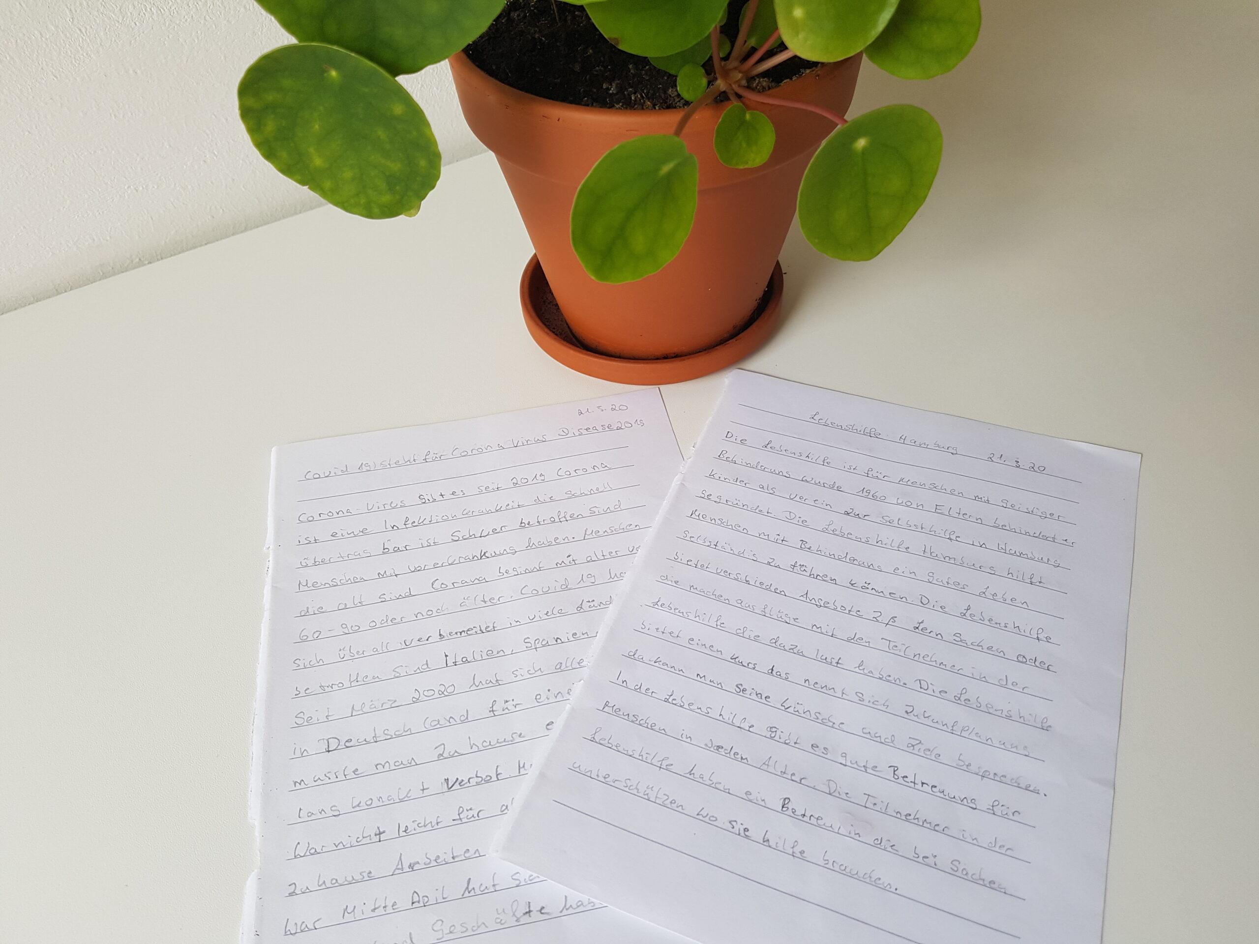 Briefe auf dem Tisch