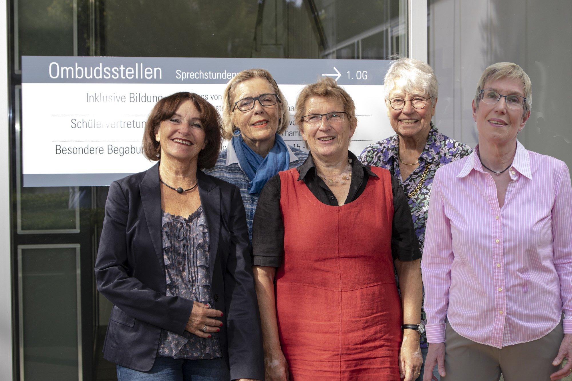 5 Damen von der Ombudsstelle Inklusive Bildung